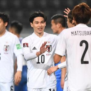 日本代表が衝撃の14発で歴史的勝利