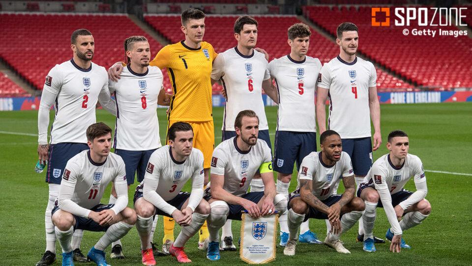イングランド代表がEUROに臨む予備メンバー発表!マグワイアやヘンダーソンなど負傷中の選手も選出