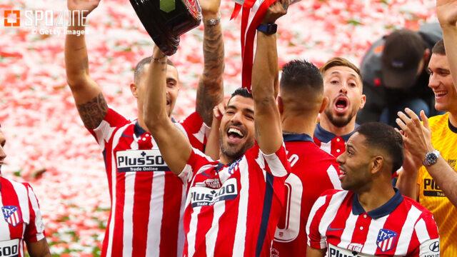 アトレティコ優勝に貢献したスアレス、来シーズン残留を明言「間違いなく残る」