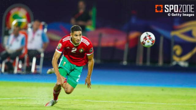 ハリルホジッチ監督率いるモロッコ、ハキミの鮮やかFK弾で完封勝利!