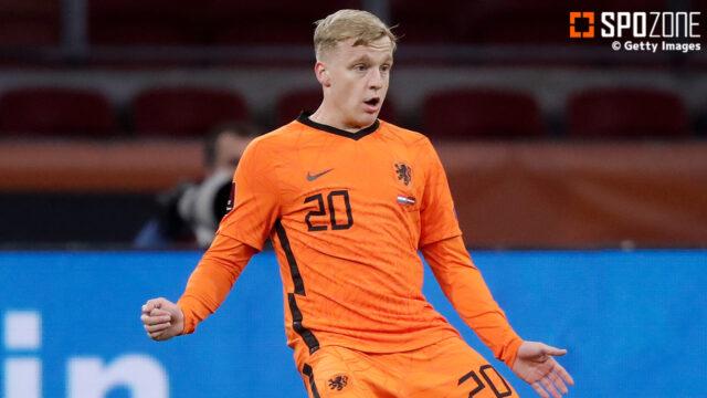 オランダ代表ファン・デベークが負傷でEURO欠場に…追加招集はなし