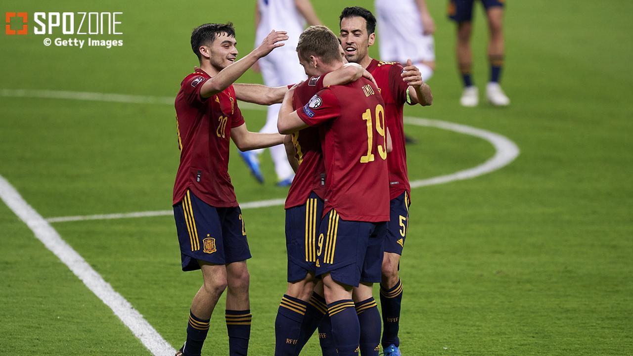 【EURO展望:グループE】不安定さ目立つも…自力で勝るスペイン優位は変わらない