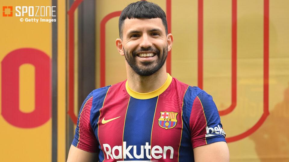 マンC退団のアグエロ、2年契約でバルセロナに加入!「素晴らしい決断をした」
