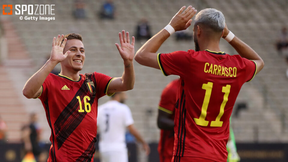 【EURO展望:グループB】ベルギーの首位通過が濃厚 ロシアやデンマークが2位を争う