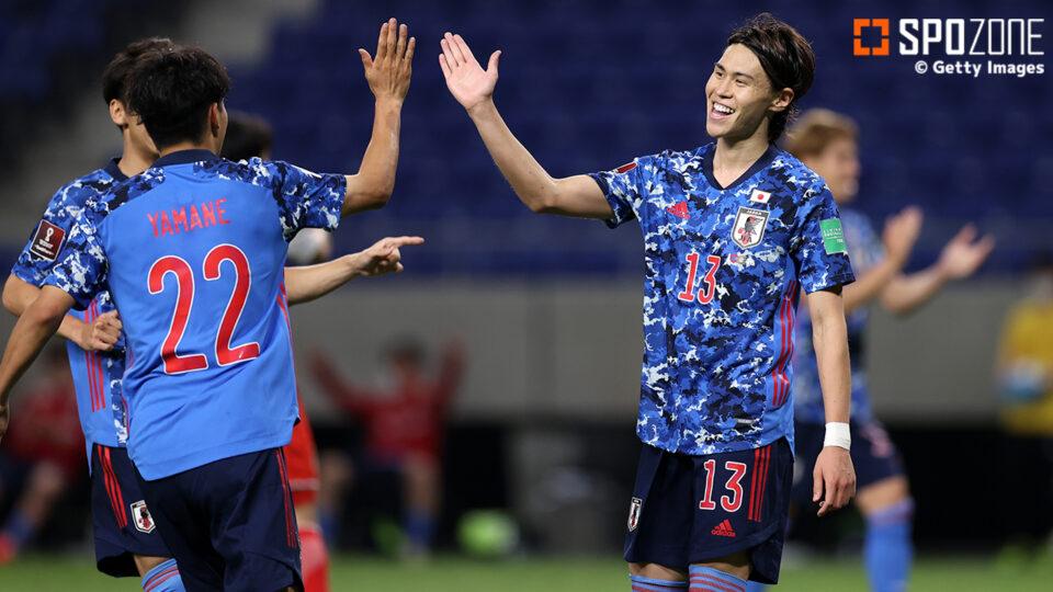 日本代表、2次予選初の失点喫するも…タジキスタンに4発白星で怒涛の7連勝