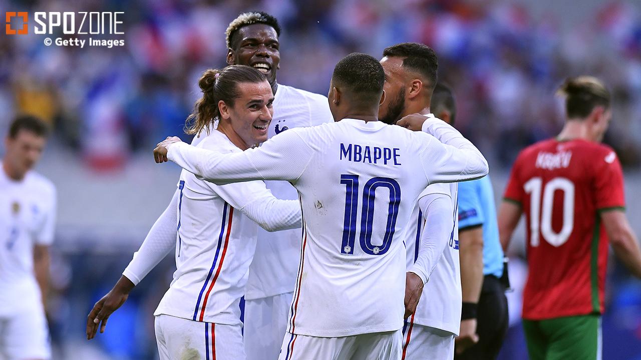W杯王者フランスが2戦連続3ゴール快勝!急遽U-21主体で臨んだスペインは4発でリトアニア撃破
