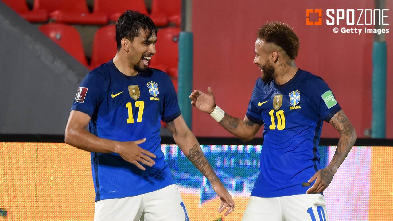 ブラジルの勢いが止まらない!ネイマール1G1Aで無傷のW杯予選6連勝!