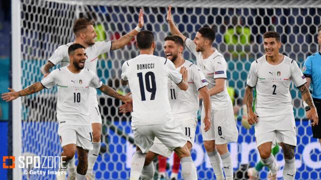 EURO2020開幕!イタリアが磐石の試合運びで3発快勝!